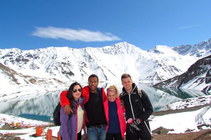 Excursão particular diurna pelos Andes ao Vale de Maipo e ao reservatório El Yeso