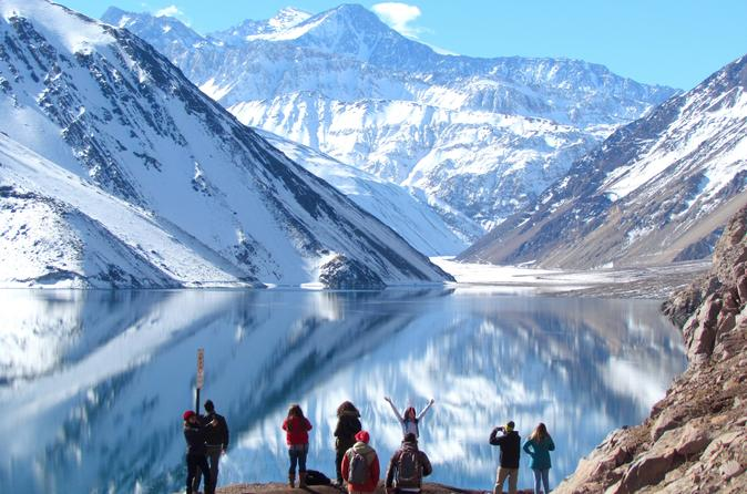 Private Andes Day Excursion to Maipo Valley and El Yeso Reservoir