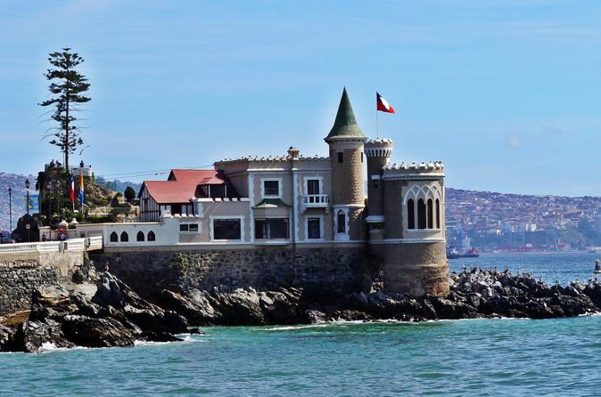 Private Full Day Tour to Concón Viña del Mar and Valparaiso