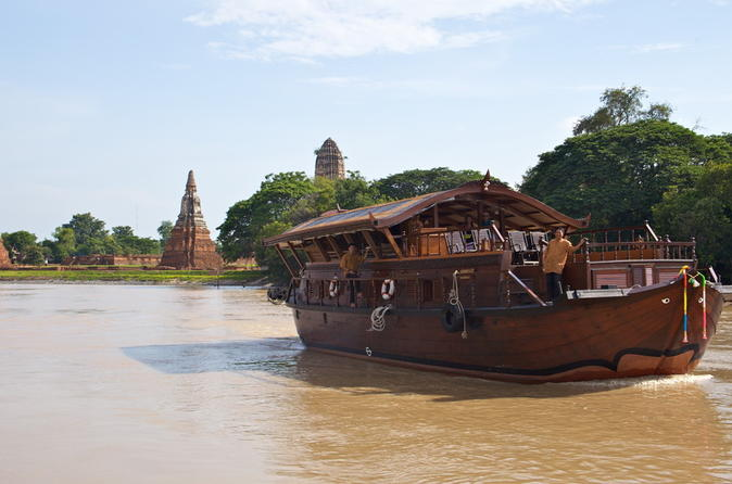 Mekhala River Cruise: Overnight from Ayutthaya to Bangkok
