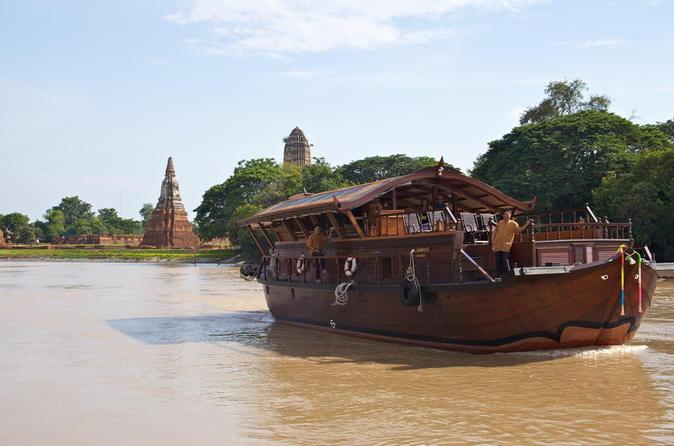 Overnight Mekhala River Cruise from Bangkok to Ayutthaya