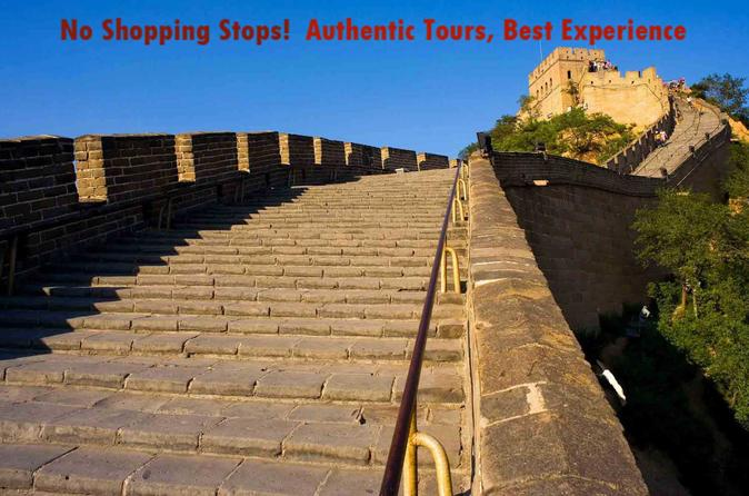 Beijing Badaling Great Wall and Dingling Tomb Private Day Tour