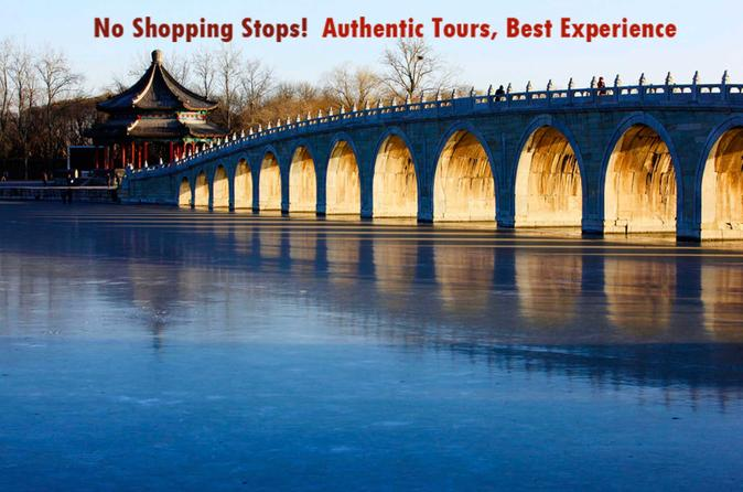 Summer Palace and Mutianyu Great Wall Private Day Tour From Beijing