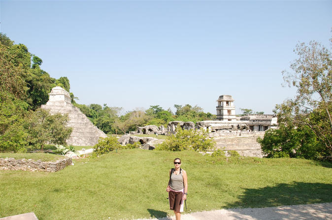 Full day tour wonders of agua azul cascades and palenque ruins in palenque 323956