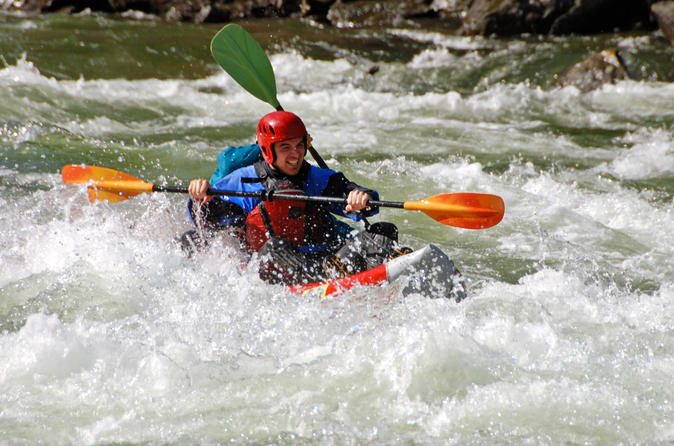 Full day tandem whitewater rafting including lunch in clearwater 212994