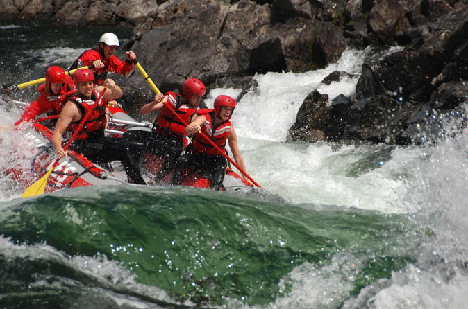 Full day whitewater rafting on clearwater river in clearwater 212992