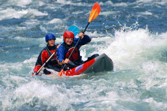 Half day tandem whitewater kayaking on the clearwater river in clearwater 212993