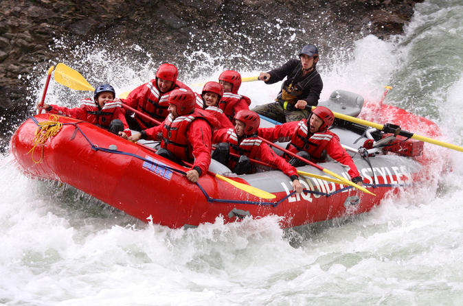 Half day whitewater rafting on the clearwater river in clearwater 210711
