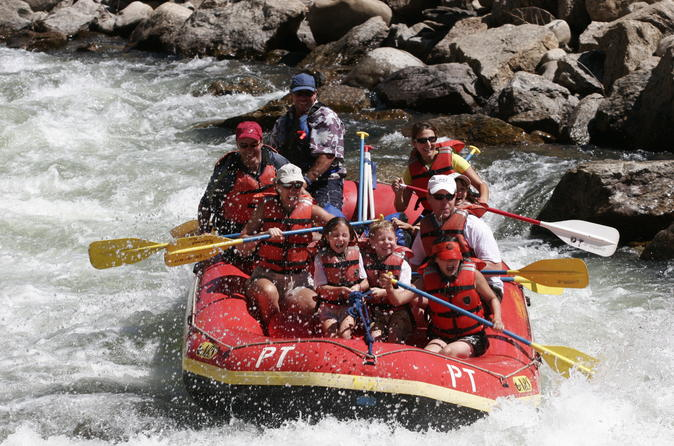 Brown s canyon full day rafting in buena vista 299471