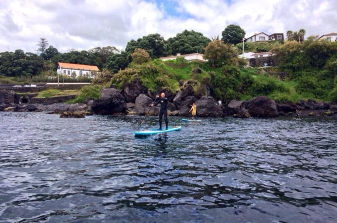 Stand up paddle board experience in the azores in angra do hero smo 210735