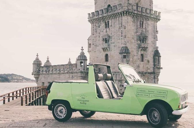 Lisboa Tour in Renault 4L Convertible - 4H