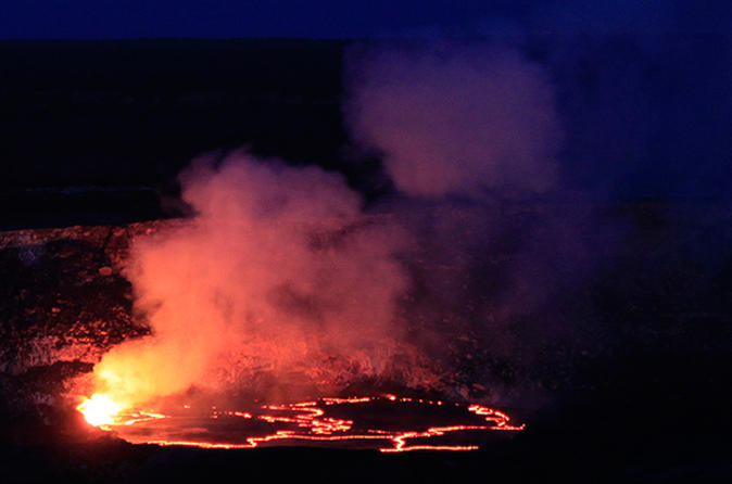 Explore the Night Volcano - Small Group Tour with Exclusive Dinner at The Volcano House - The Rim Restaurant