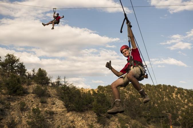 Manitou springs zipline and 4x4 adventure in colorado springs 241256