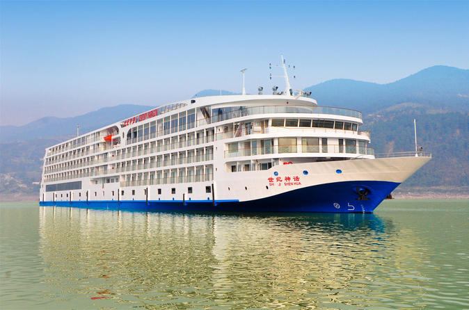3 night century paragon three gorges cruise tour from chongqing to in chongqing 218180