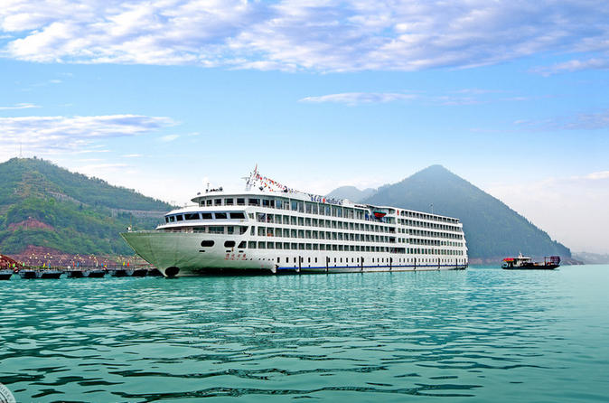 3-Night President 8 Three Gorges Cruise Tour From Chongqing to Yichang
