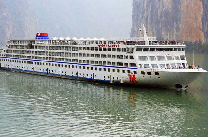 4 day yangtze gold 6 yangtze river cruise tour from chongqing to in chongqing 218203