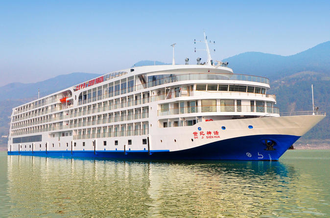 5 day century paragon yangtze river cruise tour from yichang to in yichang 217904