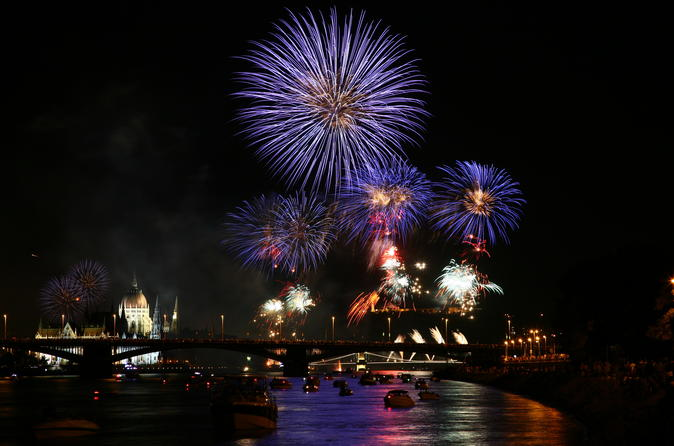 Saint Stephen's Day  Fireworks Dinner Cruise With Folk And Sightseeing - Budapest