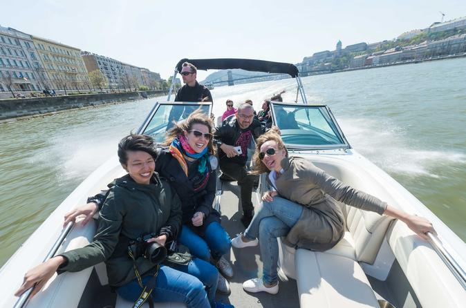 Speedboat Ride on the Danube River in Budapest 2019