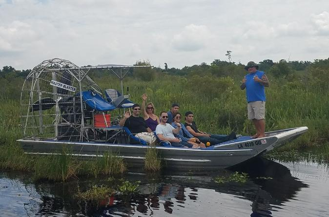 4-Hour Private Airboat Ride from New Orleans