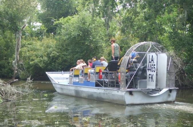 Large Airboat Swamp Tour