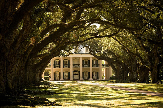 Oak Alley Plantation and Small Airboat Tour from New Orleans