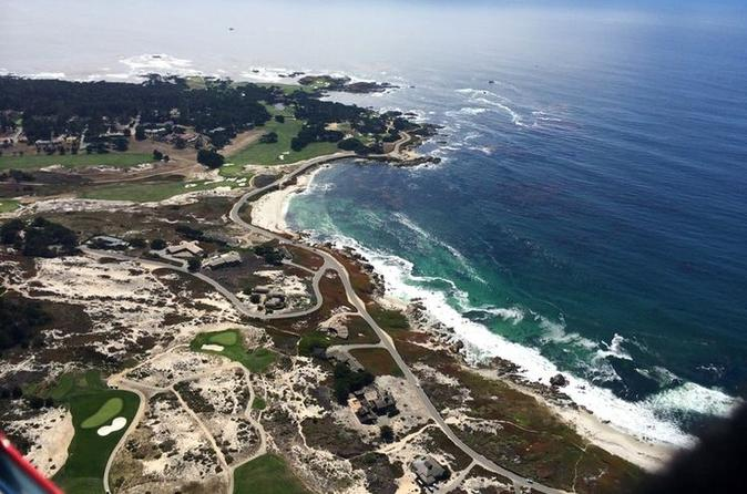 Monterey bay big sur helicopter tour in monterey 217742