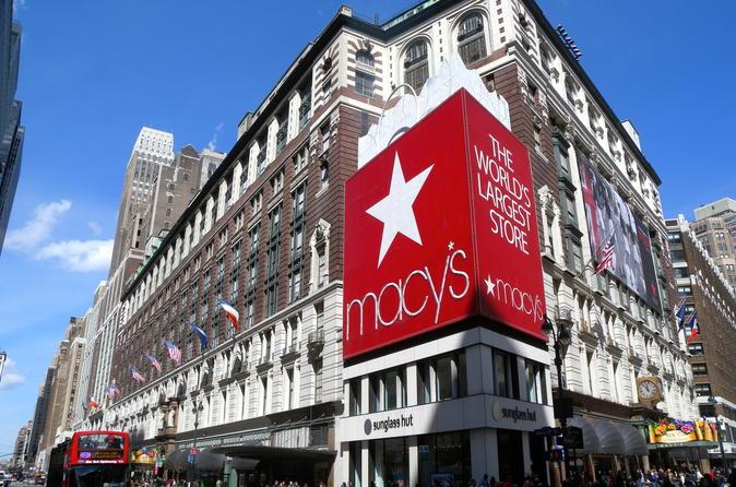 Macy's Star Shopper at Macy's Herald Square New York