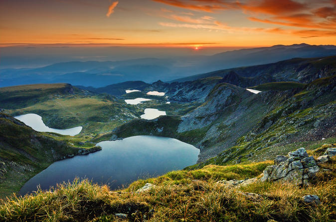 Rila Monastery and 7 Rila Lakes in one day from Sofia
