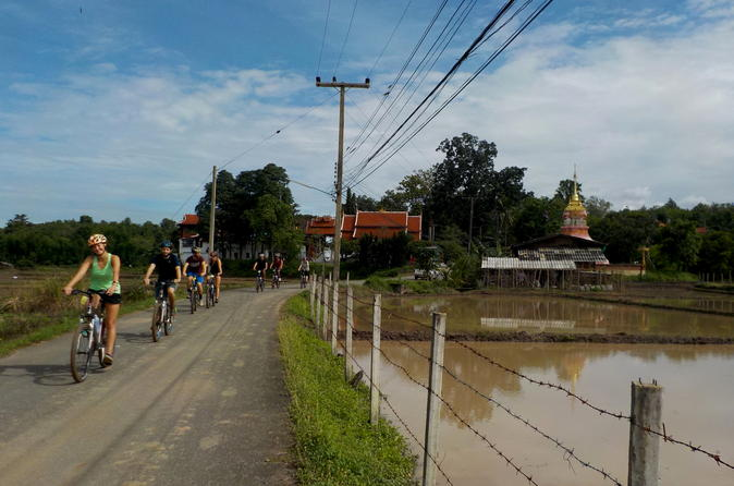 Full-Day Hike and Bike Tour in Mae Sa Valley from Chiang Mai
