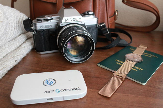Mobile Hotspot by Rent 'n Connect in Germany High Speed Option