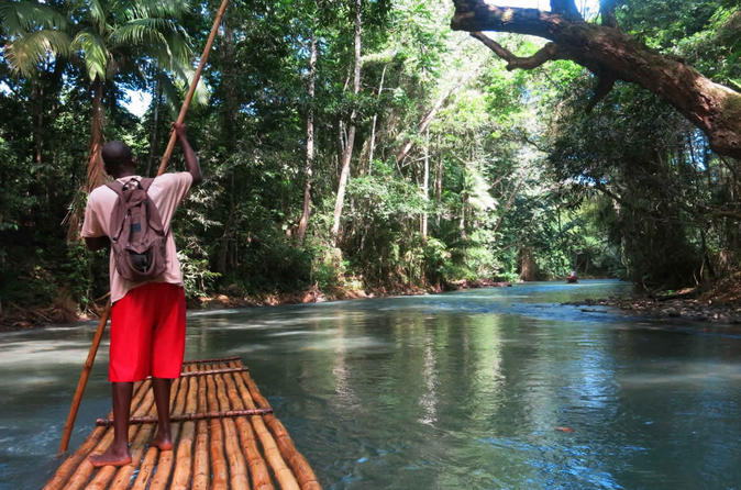 Private dunn s river falls and martha brae river rafting tour from in negril 251182