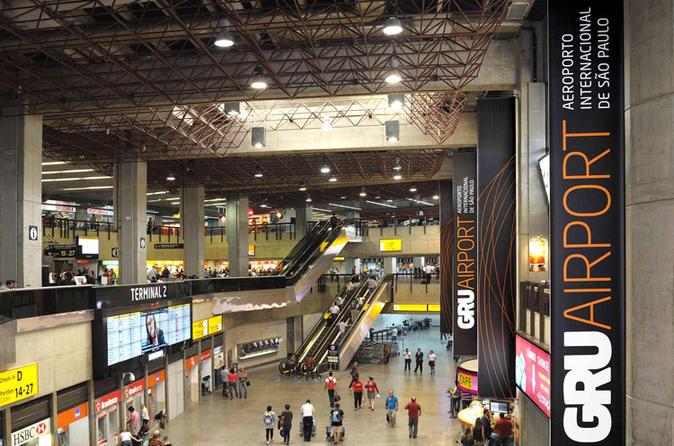 Excursão particular de escala em São Paulo, dos aeroportos GRU, VCP e CGH