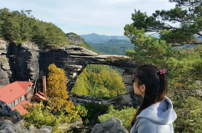 Private Tour to the National park Bohemian Switzerland from Prague