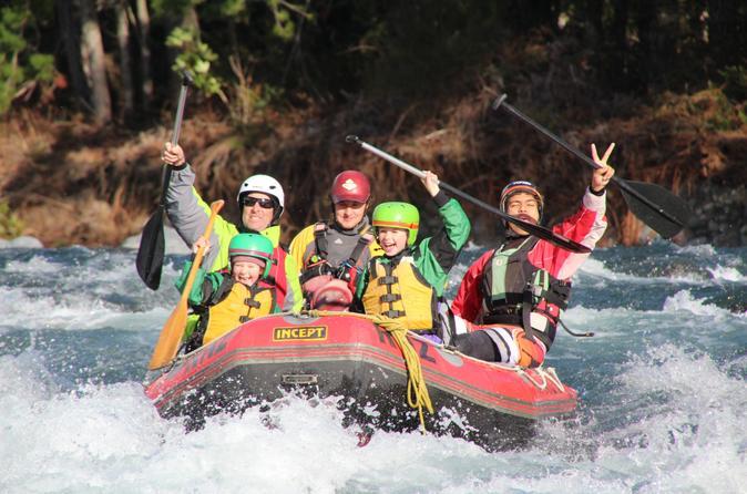 Tongariro River Family Fun White Water Rafting from Turangi