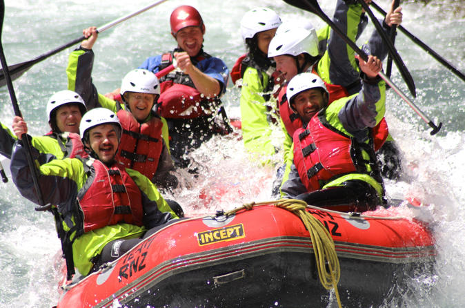 Tongariro white water rafting from taupo and turangi in turangi 212998