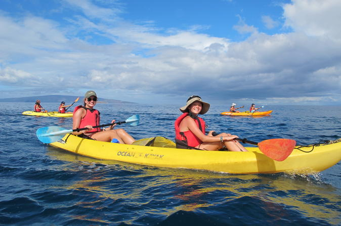 Deluxe Makena Kayak Turtle Snorkel Tour