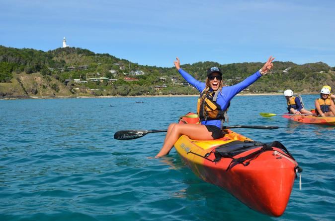Byron bay dolphin sea kayak tour in byron bay 213006