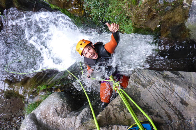 Half-Day Kawarau Canyoning Experience from Queenstown