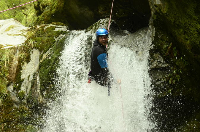 Wanaka Canyoning Adventure Including Lunch