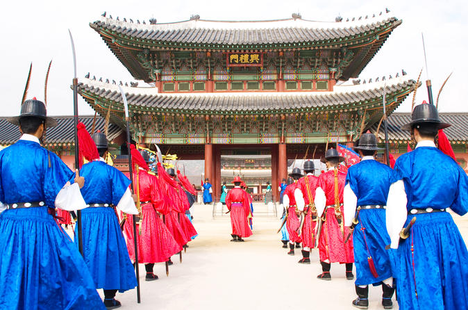 Seoul city private full day tour including lunch in seoul 357617