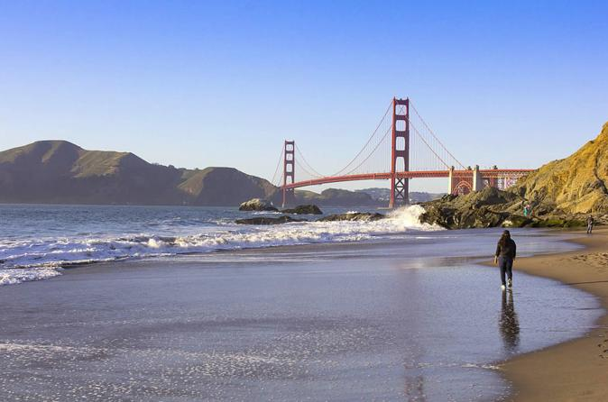 San Francisco Walking Tour: Golden Gate Bridge to Marshall Beach