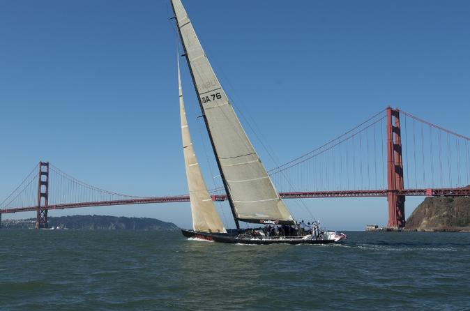 America's Cup Sailing Adventure on San Francisco Bay: Day Sail