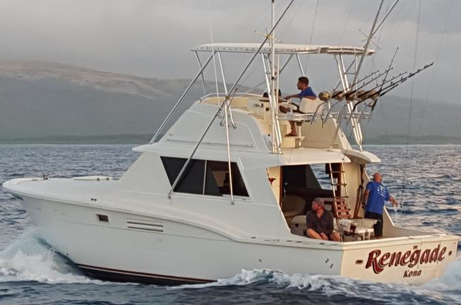 Deep sea full day exclusive fishing charter oahu viator for Honolulu fishing charters
