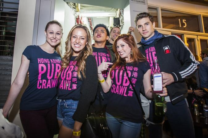 Evite as Filas: Pub Crawl em Hong Kong