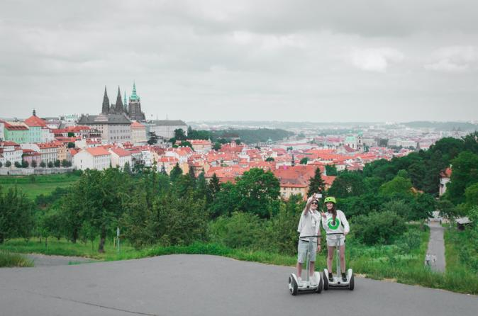 Prague Castle Ninebot Tour