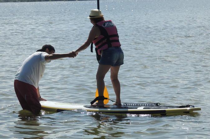 Stand Up Paddling in Lagoa da Conceição