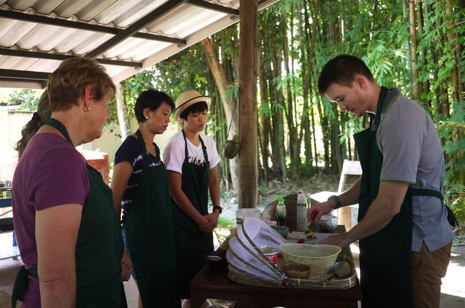 Full-Day Hands-on Thai Cooking Class in a Garden in Chiang Mai