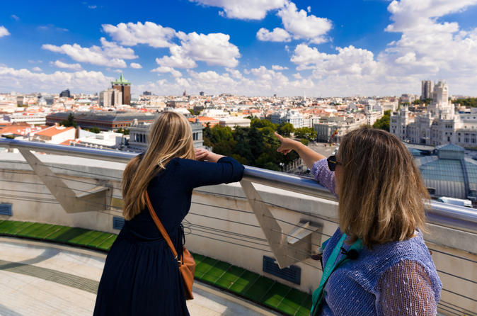 Early Entrance Royal Palace with Madrid City Tour & Rooftop View