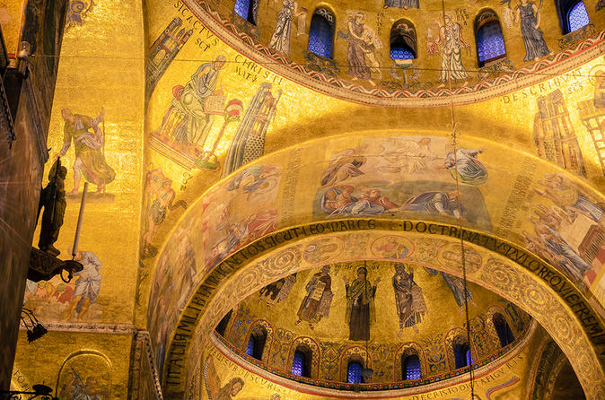 Excursão após o horário de expediente na Basílica de São Marcos com a visita opcional ao Palácio Ducal